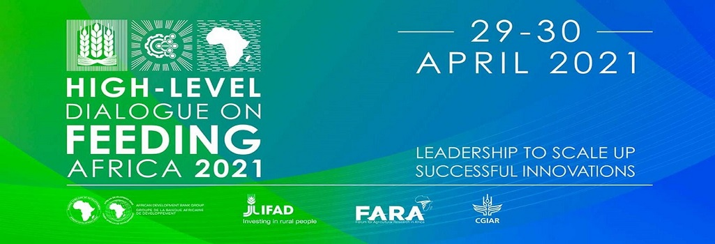 High-Level Virtual Dialogue on Feeding Africa: Leadership to scale up successful innovations